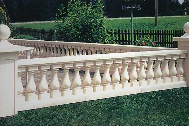 Gartenbalustrade